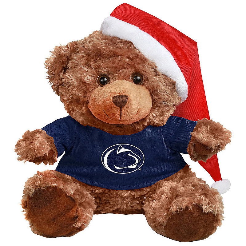 Penn State Bear With Santa Hat Nittany Lions (PSU)