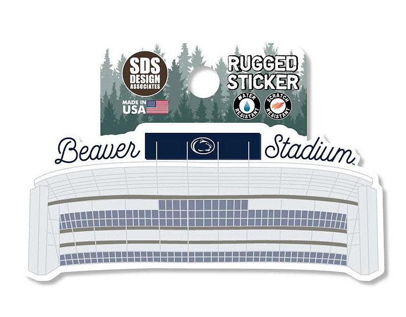 Penn State Beaver Stadium Rugged Sticker Nittany Lions (PSU)