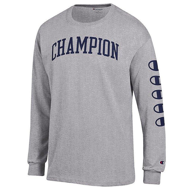 Penn State Champion Champion Brand Grey Long Sleeve Nittany Lions (PSU) (Champion )