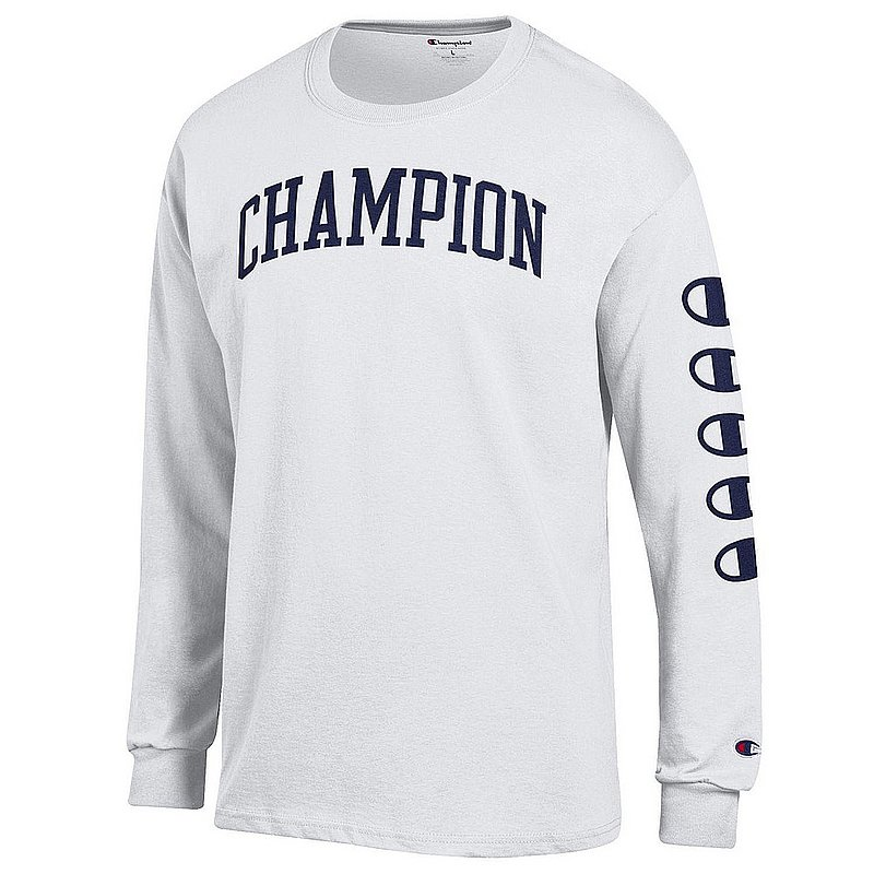 Penn State Champion Champion Brand White Long Sleeve Nittany Lions (PSU) (Champion )