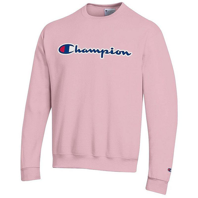 Penn State Champion Champion Powerblend Crewneck Sweatshirt Feather Pink Nittany Lions (PSU) (Champion )