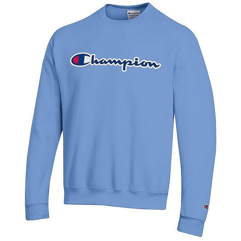 Penn State Champion Champion Powerblend Crewneck Sweatshirt Light Blue Nittany Lions (PSU) (Champion)