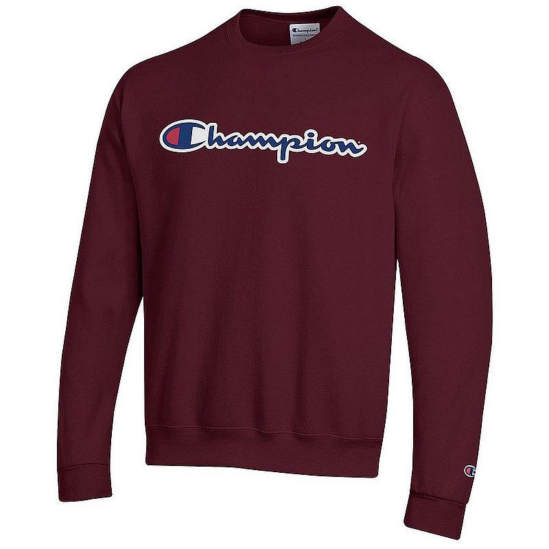 Penn State Champion Champion Powerblend Crewneck Sweatshirt Maroon Nittany Lions (PSU) (Champion )