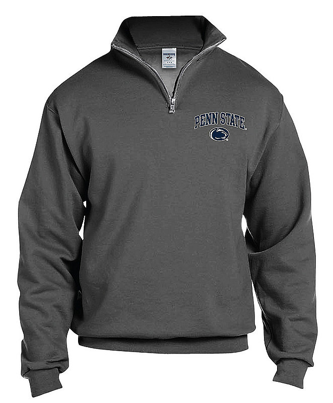 Penn State Charcoal Arching Over Quarter Zip Nittany Lions (PSU)