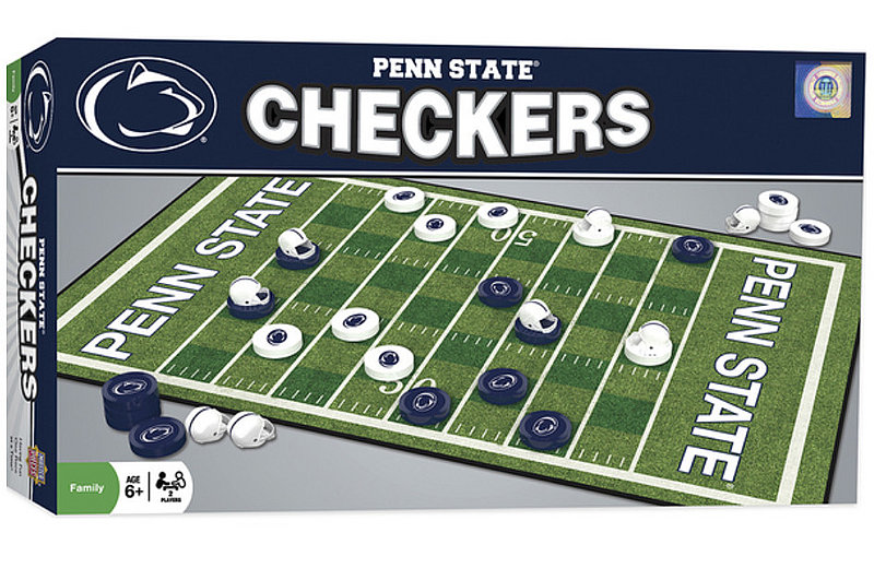 Penn State Checkers Board Game Nittany Lions (PSU)