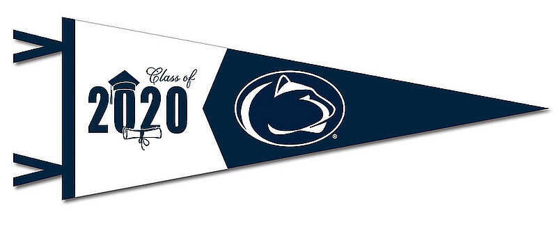 Penn State Class of 2020 Felt Pennant Nittany Lions (PSU)