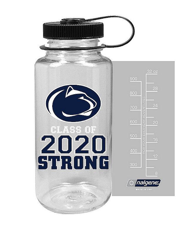 Penn State Class of 2020 Strong 32oz Nalgene Bottle Clear Nittany Lions (PSU)
