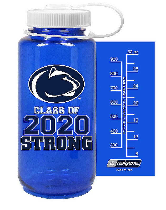 Penn State Class of 2020 Strong 32oz Nalgene Bottle Navy Nittany Lions (PSU)