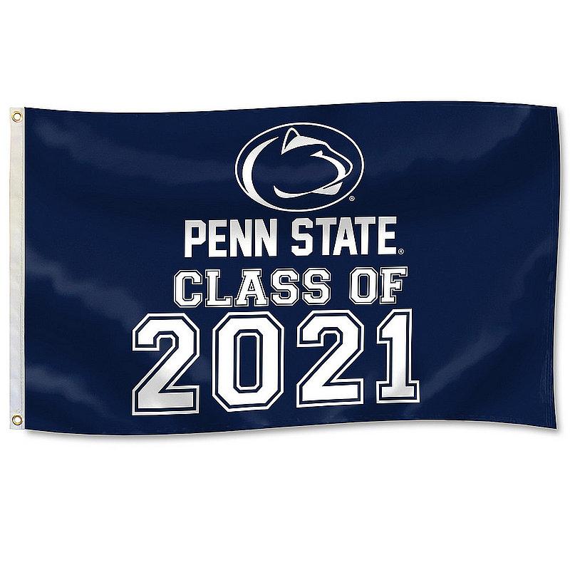 Penn State Class of 2021 3' x 5' Flag