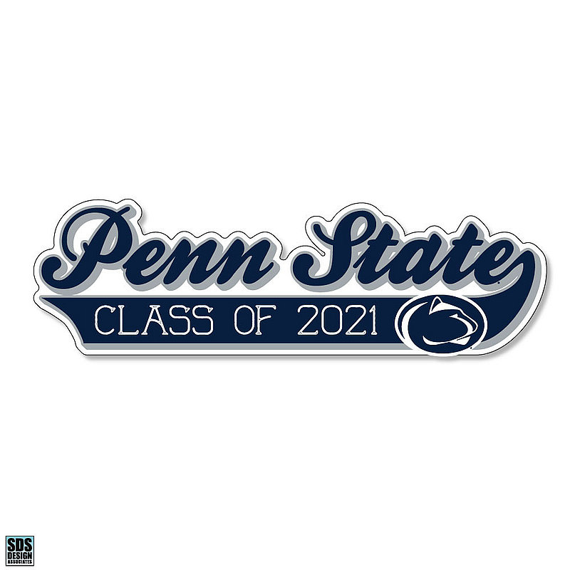 Penn State Class of 2021 Rugged Sticker Nittany Lions (PSU)