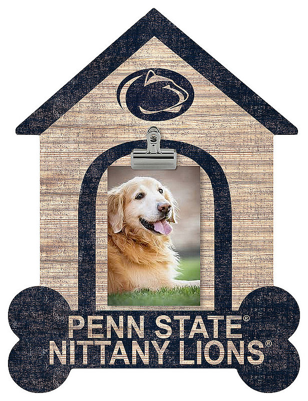 Penn State Clip Dog House Frame Nittany Lions (PSU)