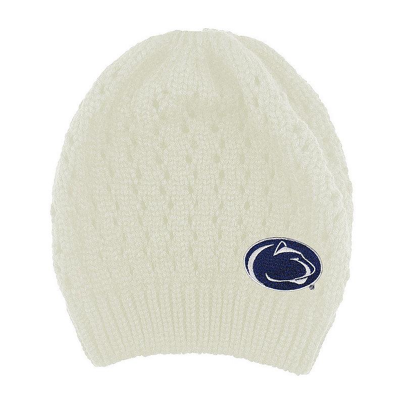 Penn State Cream Honey Bun Knit Beanie