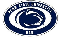 "Penn State Dad Magnet 4"" X 6"" Nittany Lions (PSU) PSU092"