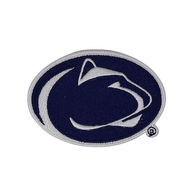 Penn State Embroidered Lion Head Iron-On Emblem Patch