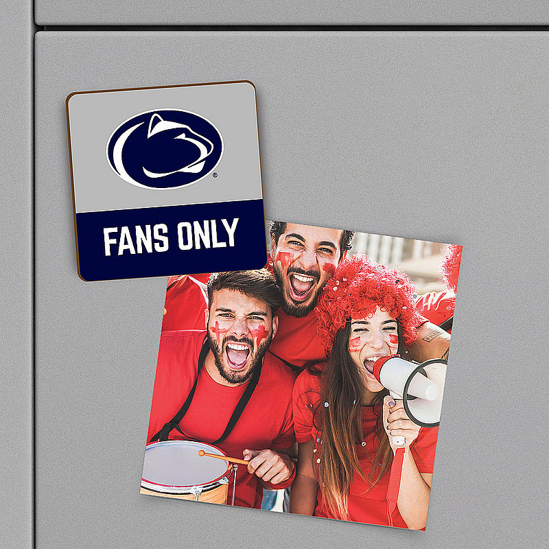 Penn State Fans Only Wood Magnet