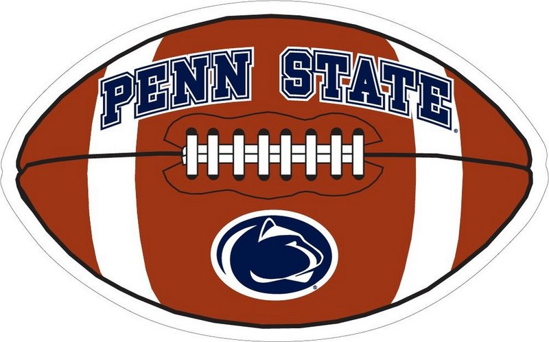 Penn State Football 6in Magnet Nittany Lions (PSU)