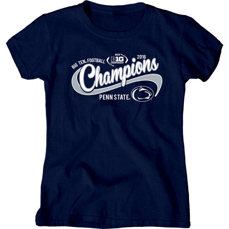 Penn State Football Big Ten Champs Ladies Tshirt 2016 Nittany Lions (PSU) 000000000P8GG LALT