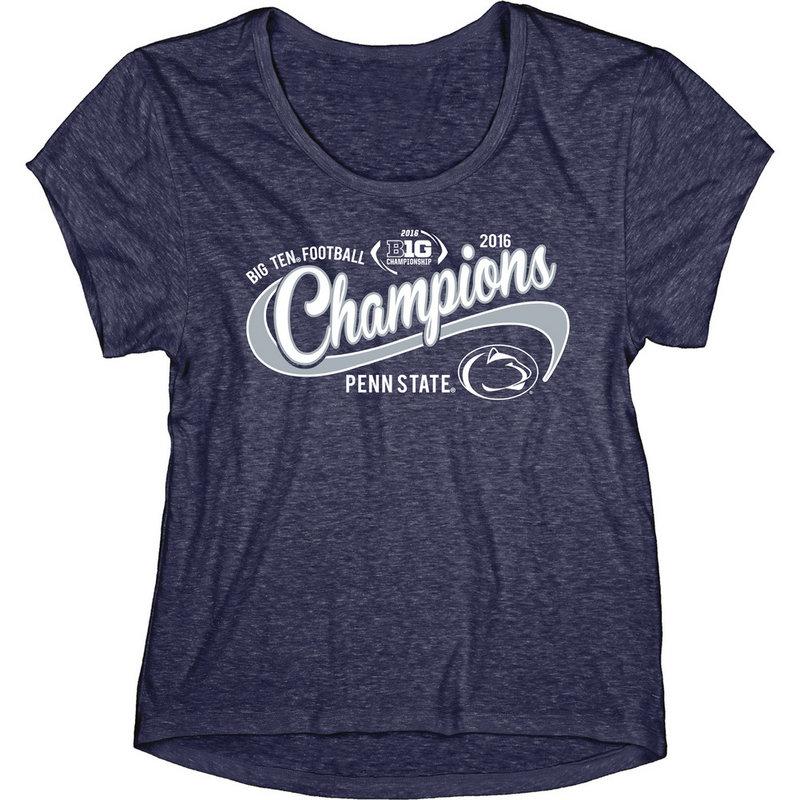 Penn State Football Big Ten Champs Ladies Tshirt 2016