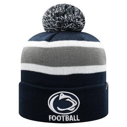 Penn State Football Pom Knit Hat Nittany Lions (PSU)