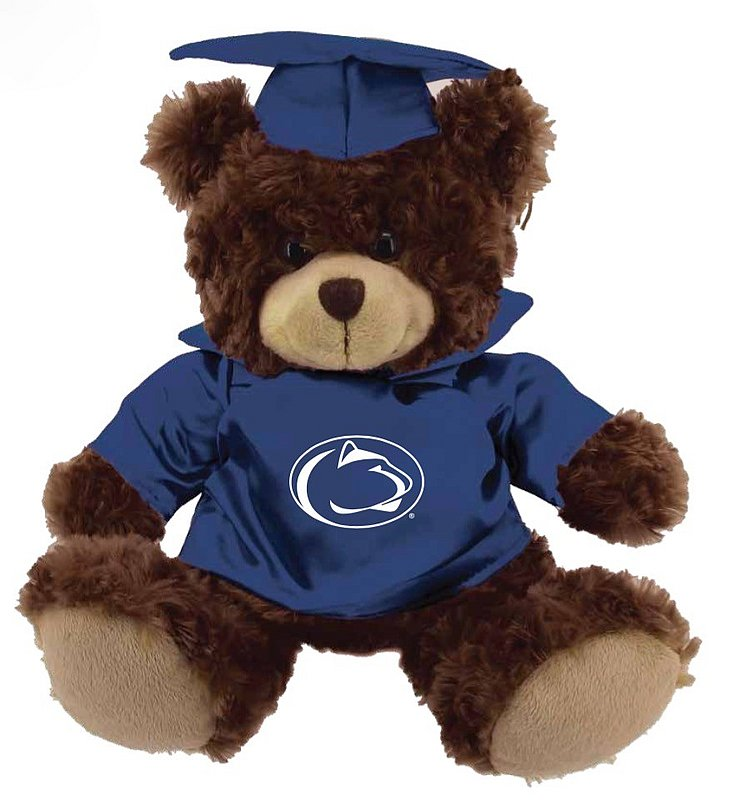 Penn State Graduation Bear Nittany Lions (PSU)