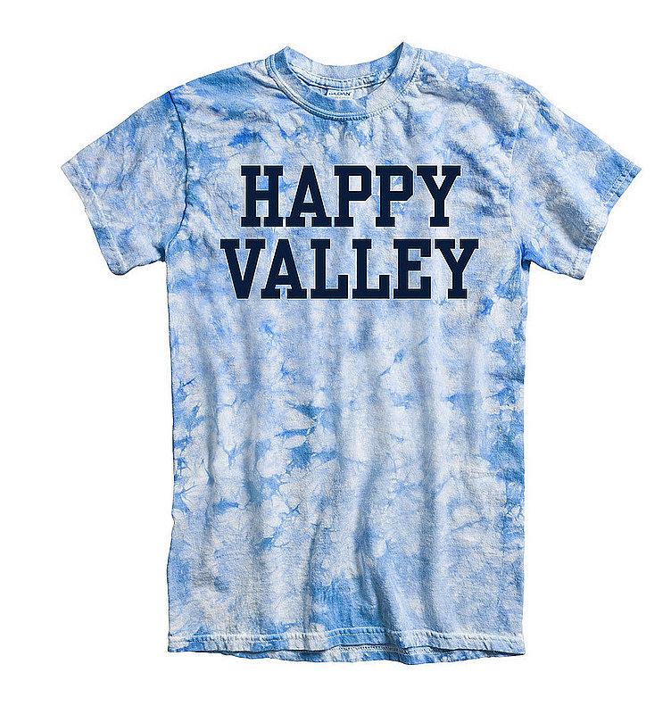 Penn State Happy Valley Blue Crystal Tie Dye Tee Nittany Lions (PSU)