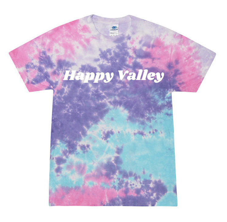 Penn State Happy Valley Cotton Candy Tie Dye T-Shirt Nittany Lions (PSU)
