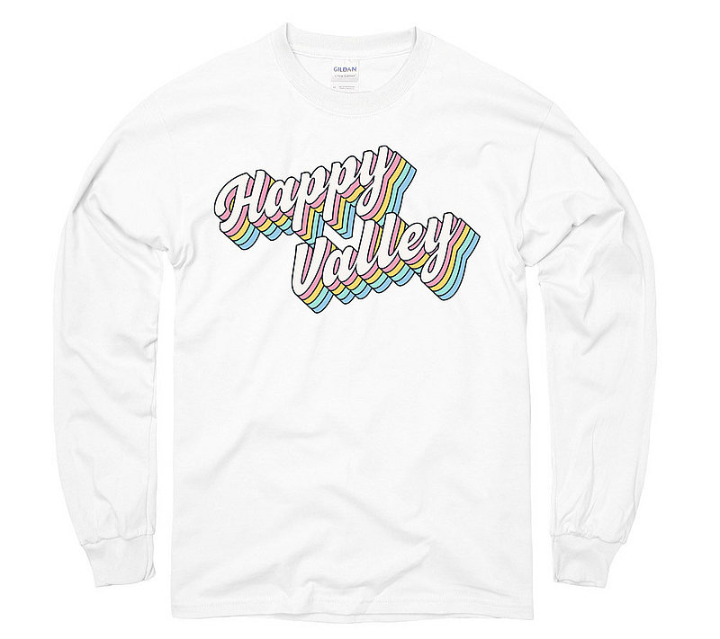 Penn State Happy Valley Groovy Retro Rainbow Long Sleeve Shirt Nittany Lions (PSU)