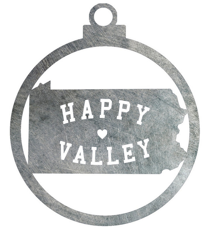 Penn State Happy Valley Holiday Ornament Nittany Lions (PSU)