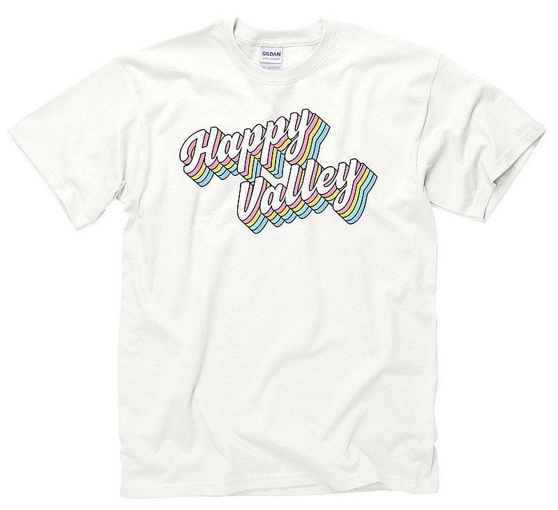 Penn State Happy Valley Retro Groovy Rainbow T-shirt Nittany Lions (PSU)