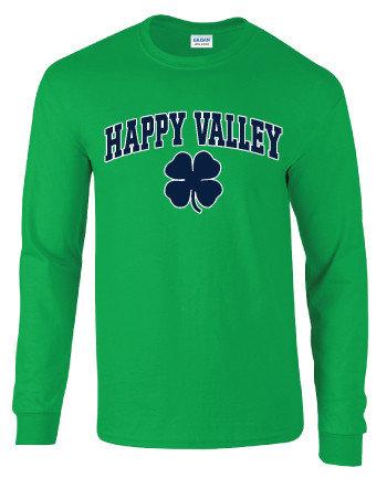 Penn State Happy Valley Shamrock Long Sleeve Shirt Nittany Lions (PSU)