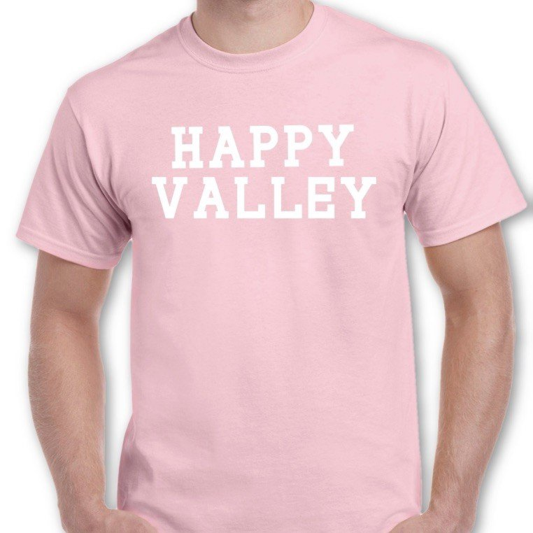 Penn State Happy Valley T-Shirt Light Pink Nittany Lions (PSU)