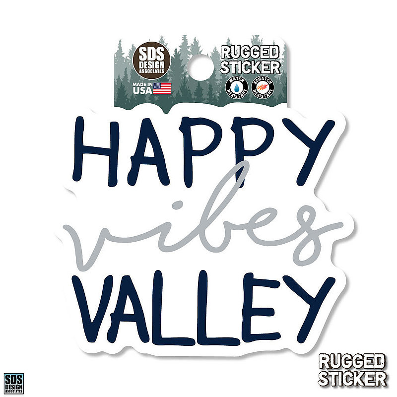 Penn State Happy Valley Vibes Rugged Sticker Nittany Lions (PSU)