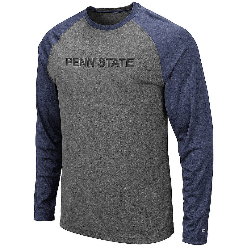 Penn State Heather Charcoal Performance Long Sleeve Nittany Lions (PSU)