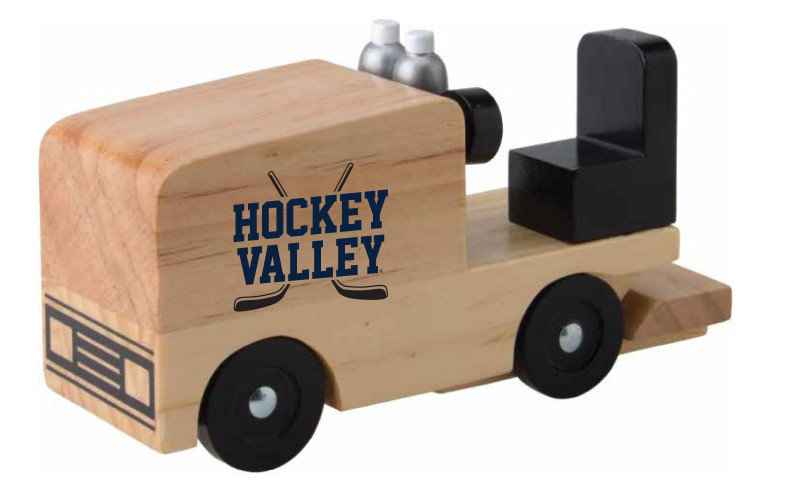 Penn State Hockey Valley Wood Zamboni Toy Nittany Lions (PSU)