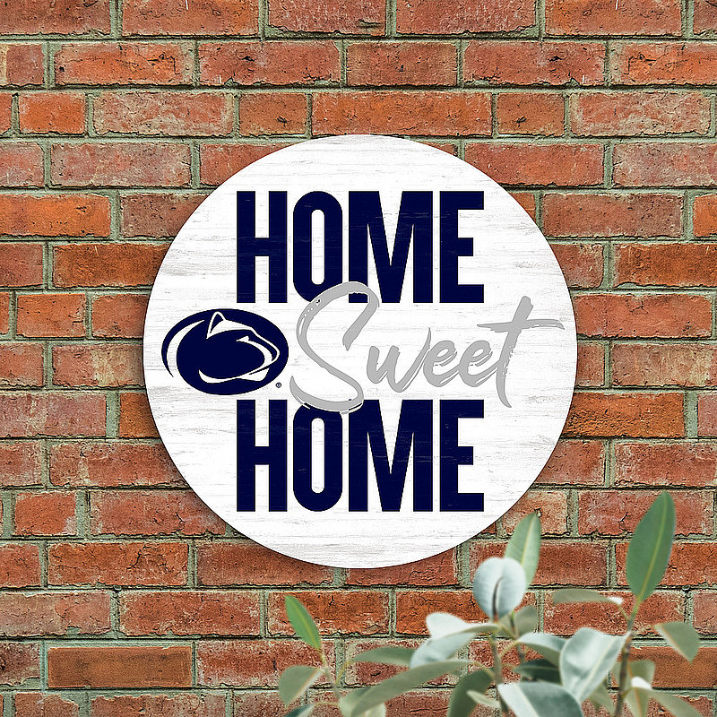 Penn State Home Sweet Home Circular Sign Nittany Lions (PSU)