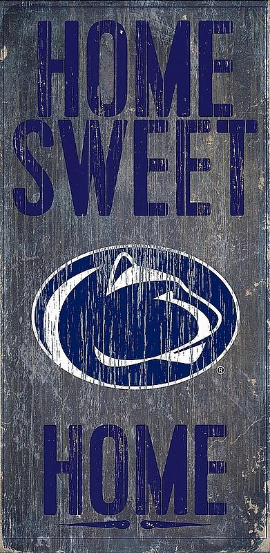 Penn State Home Sweet Home Wood Sign Nittany Lions (PSU)