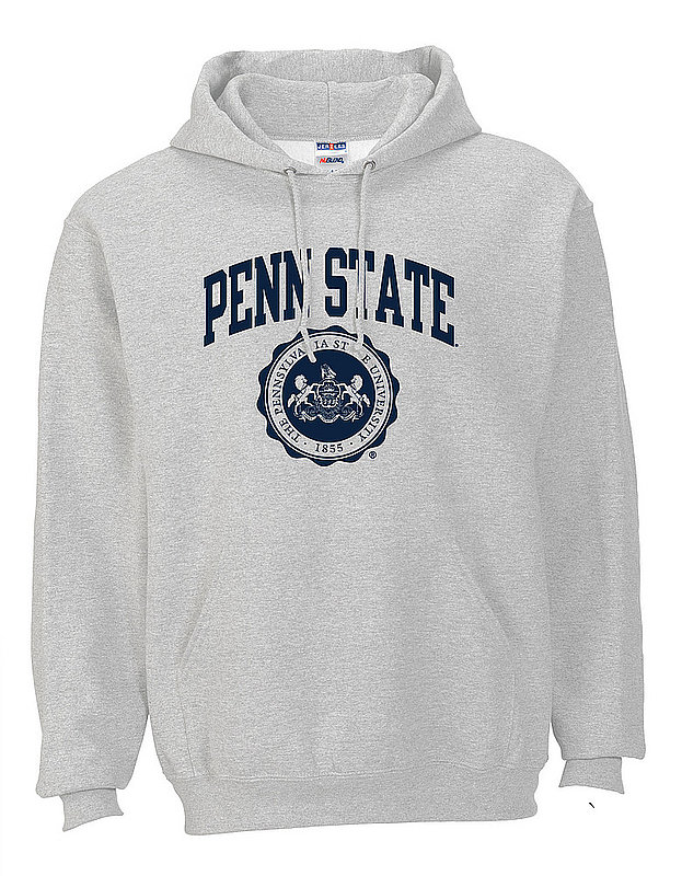 Penn State Hooded Sweatshirt Official Seal Ash Nittany Lions (PSU)