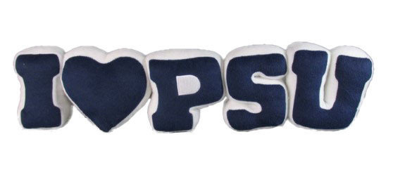 Penn State I Love PSU Pillow Nittany Lions (PSU)
