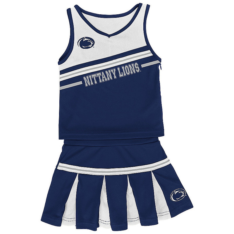 Penn State Infant Girls Cheerleading Outfit Nittany Lions (PSU)