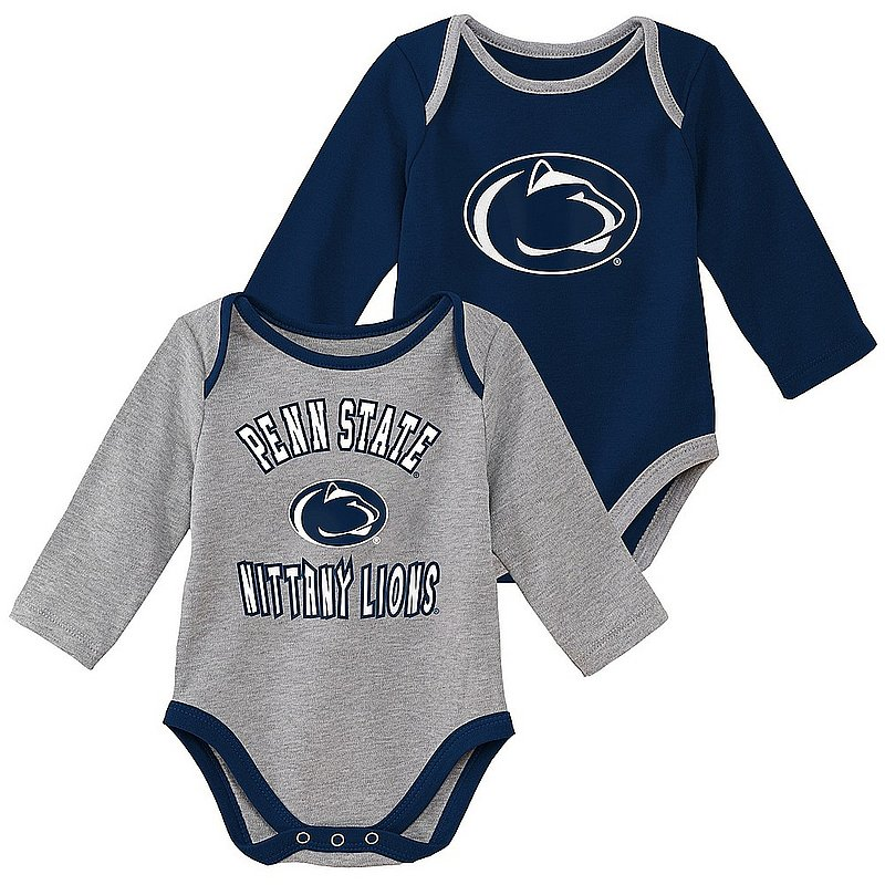 Penn State Infant Long Sleeve Onesie 2-Pack Nittany Lions (PSU)