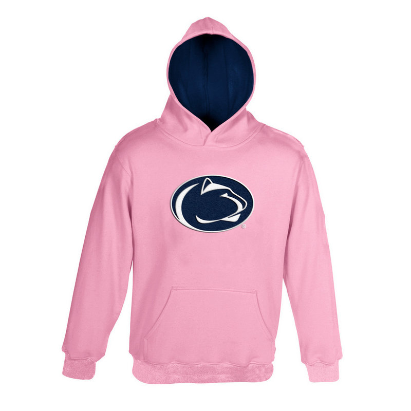Penn State Infant Pink Embroidered Hood Nittany Lions (PSU)