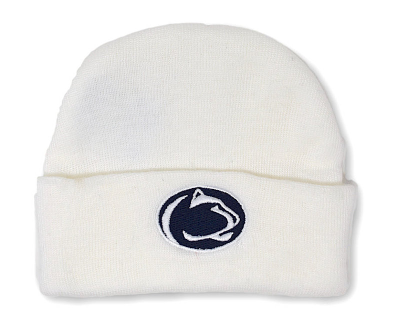 Penn State Infant Winter Hat White Nittany Lions (PSU)