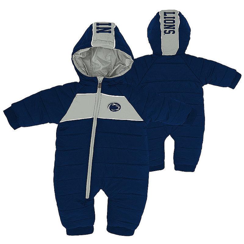 Penn State Infant Winter Puffer BodySuit Nittany Lions (PSU)