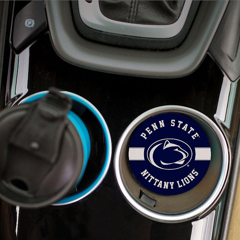 Penn State Jersey Stripe Single Car Coaster