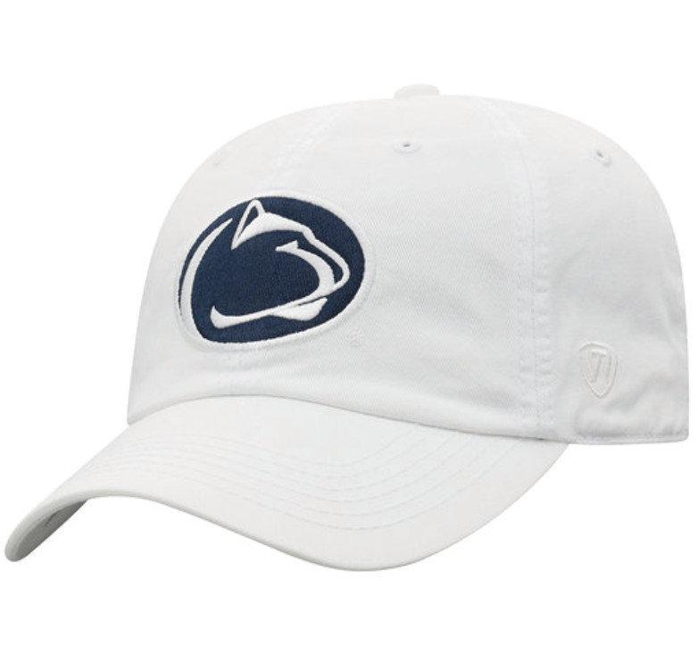 Penn State Kids Lion Head Hat White Nittany Lions (PSU)