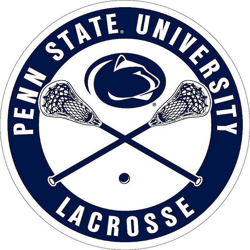 """Penn State Lacrosse Magnet - 3"""" Nittany Lions (PSU)"""
