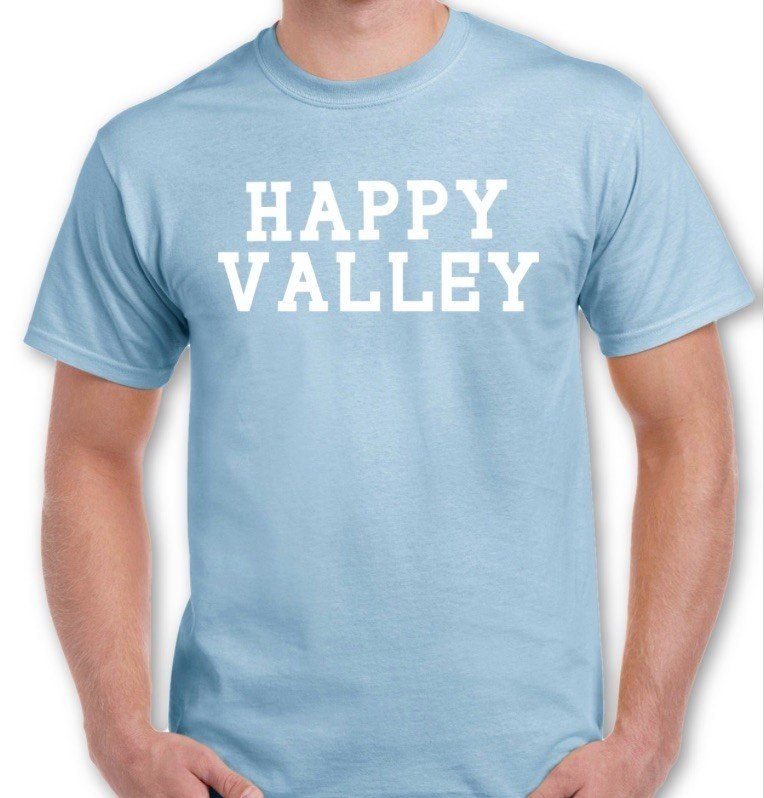 Penn State Light Blue Happy Valley T-shirt Nittany Lions (PSU)