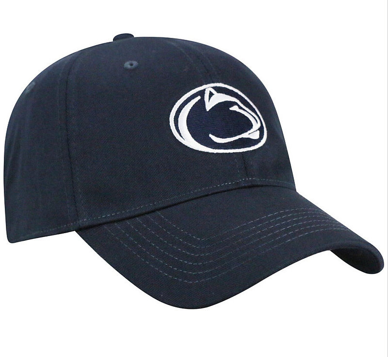 Penn State Lion Head Fitted Hat Navy Nittany Lions (PSU)