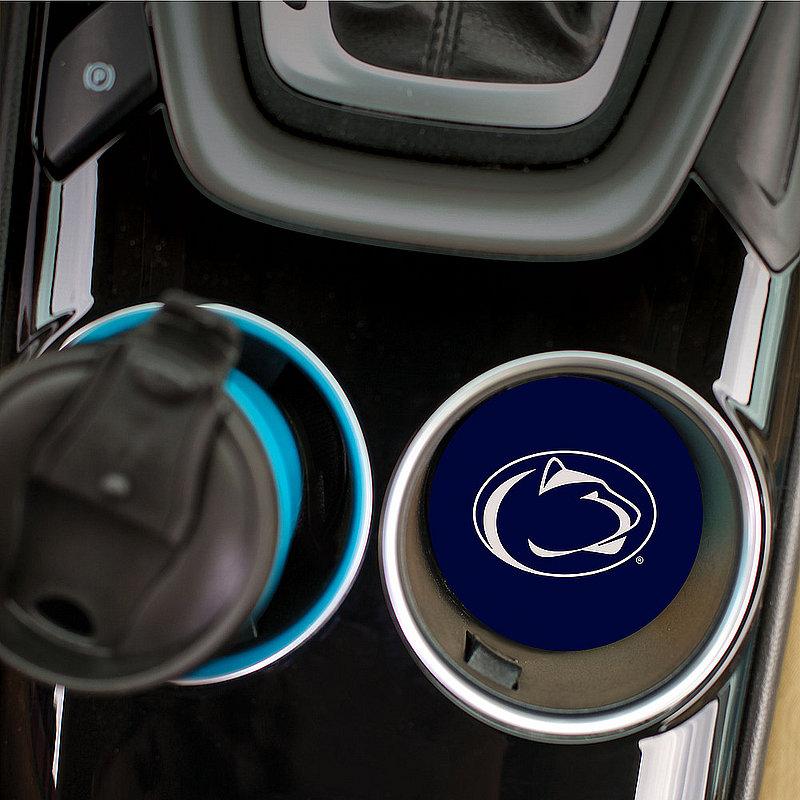 Penn State Lion Head Navy Single Car Coaster