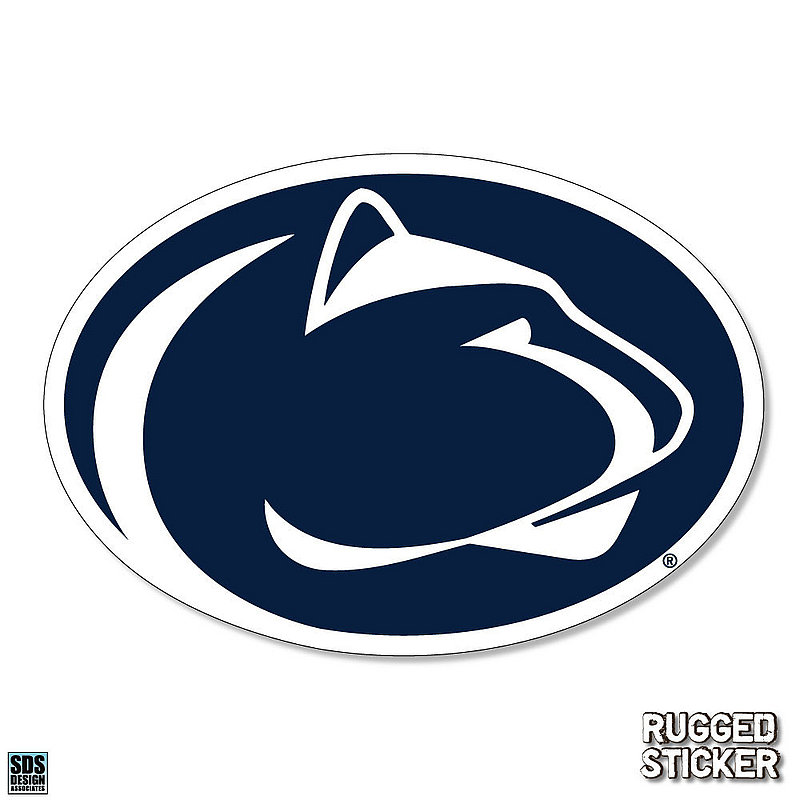 Penn State Lion Head Rugged Sticker Nittany Lions (PSU)